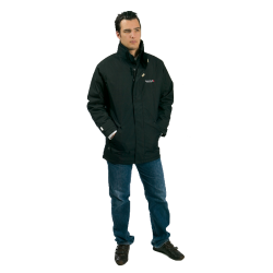 Double thickness polar parka