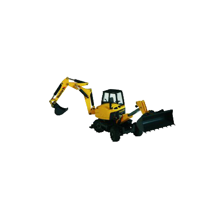MJX Backhoe loader scale model